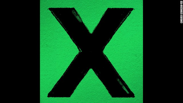 """Album of the year nominee: """"X"""" by Ed Ed Sheeran"""