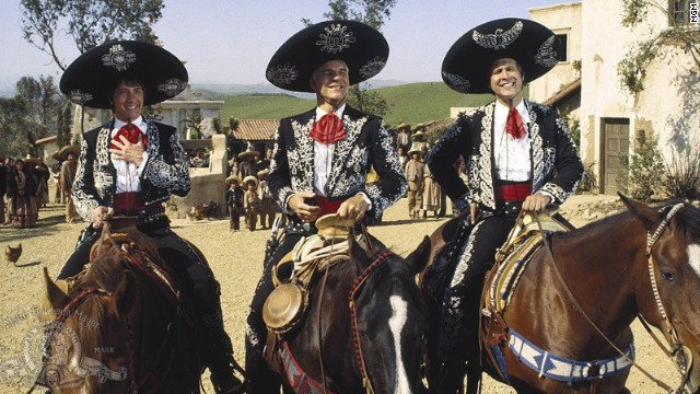 "How could Hollywood go wrong with a movie starring comedy kingpins Martin Short, Steve Martin and Chevy Chase? Ebert's answer: ""Three Amigos."" <a href='http://www.rogerebert.com/reviews/three-amigos-1986' target='_blank'>""This movie is too confident, too relaxed, too clever to be really funny.""</a>"