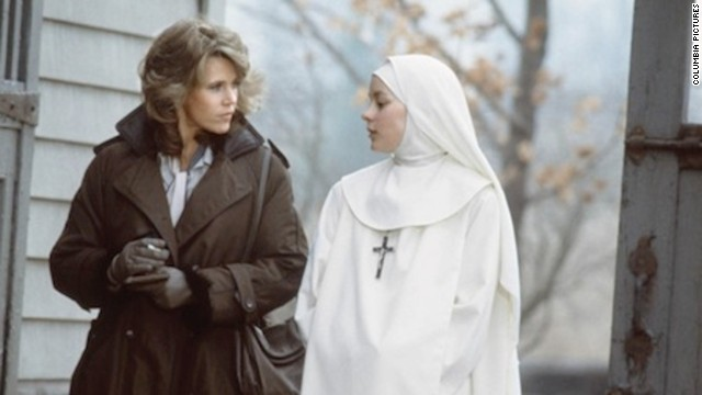 "The Academy Award-nominated ""Agnes of God,"" starring Jane Fonda and Meg Tilly received a one-star review from Ebert:<a href='http://www.rogerebert.com/reviews/agnes-of-god-1985' target='_blank'> ""It considers, or pretends to consider, some of the most basic questions of human morality and treats them on the level of 'Nancy Drew and the Secret of the Old Convent.'""</a>"