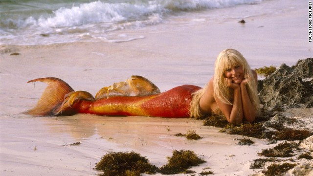 "The romantic comedy ""Splash"" co-starred Daryl Hannah as a mermaid. <a href='http://www.rogerebert.com/reviews/splash-1984' target='_blank'>""It's too bad the relentlessly conventional minds that made this movie couldn't have made the leap from sitcom to comedy.""</a>"