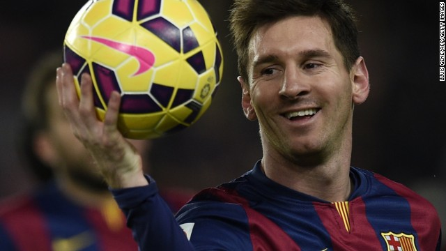 Lionel Messi's collection of match balls for scoring hat tricks has increased at a rapid rate in the last month.