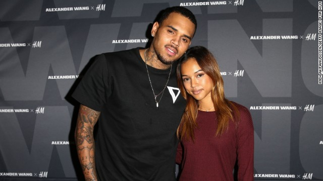 Chris Brown and model Karrueche Tran have called it quits very publicly. Brown reportedly took to social media to accuse Tran of cheating with rapper Drake, who has also been involved with Brown's famed ex, singer Rihanna. He later apologized.