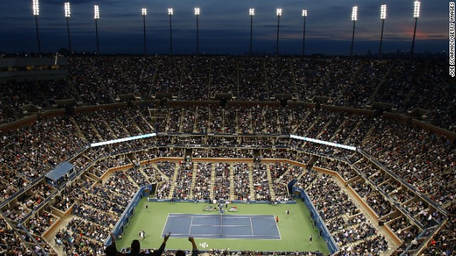 The U.S. Open houses the biggest regularly used tennis stadium in the world but Nadal didn't get an opportunity to play on Arthur Ashe Stadium in 2014 because he was sidelined with a wrist problem.