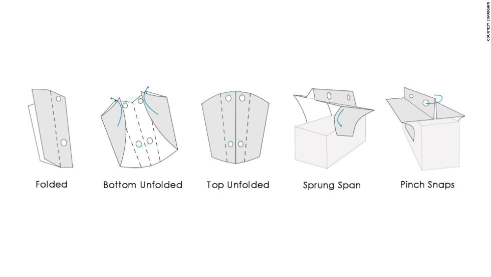 Inspirado en el origami