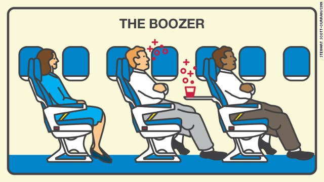If you can't remember your flight, you might be a boozer. Half of surveyed fliers think you're an unpleasant traveler.