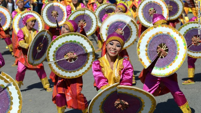 "Dancers in General Santos City, Philippines, celebrate the <a href='http://ireport.cnn.com/docs/DOC-934022'>Kalilangan Festival</a> in February 2013. The event shows ""the unity of every tribe here in our country,"" said the photographer, Eli Ritchie Tongo."