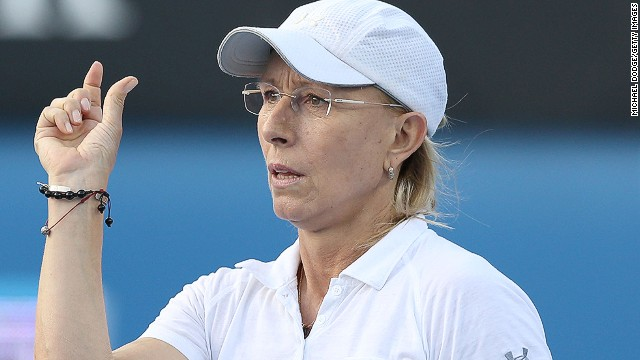Navratilova could make the men feel like small fry when she joins the ranks of the super-coaches in 2015. She holds the open era record for total singles and doubles titles in the men's and women's game.