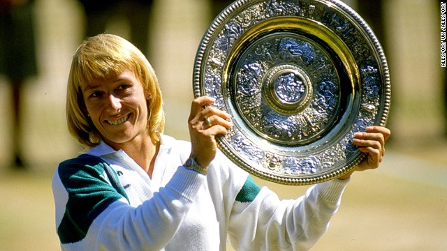 If you want to win a grand slam then just ask a proven winner... like Martina Navratilova, who is now turning her tennis skills to coaching after winning 59 grand slam titles.