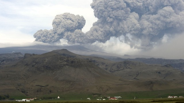 Eyjafjallajokull's 2010 eruption led to thousands of flights being grounded and millions of passengers stranded.