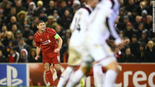 Gerrard gave Liverpool hope with a stunning free kick to draw his side level with nine minutes of normal time remaining.