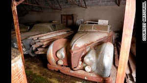 A pre-WW II Talbot-Lago found on the estate was driven by former Egyptian King Farouk, an auction house says.