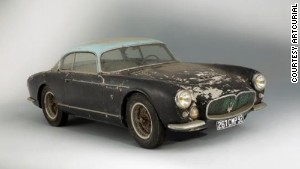 The Ferrari\'s roommate in the garage was a 1956 Maserati A6G Gran Sport Frua.