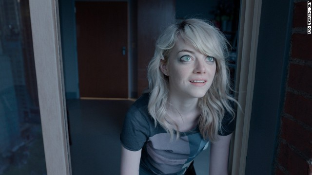 "<strong>Outstanding performance by a female actor in a supporting role: Emma Stone</strong>, ""Birdman"" (pictured); <strong>Patricia Arquette</strong>, ""Boyhood""; <strong>Keira Knightley</strong>, ""The Imitation Game""; <strong>Meryl Streep</strong>, ""Into the Woods""; <strong>Naomi Watts</strong>, ""St. Vincent."""