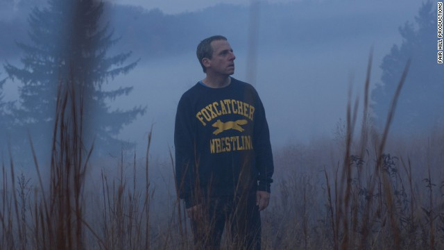 "<strong>Outstanding performance by a male actor in a leading role:</strong> <strong>Steve Carell</strong>, ""Foxcatcher"" (pictured); <strong>Benedict Cumberbatch</strong>, ""The Imitation Game""; <strong>Jake Gyllenhaal</strong>,""Nightcrawler""; <strong>Michael Keaton</strong>, ""Birdman""; <strong>Eddie Redmayne</strong>, ""The Theory of Everything."""