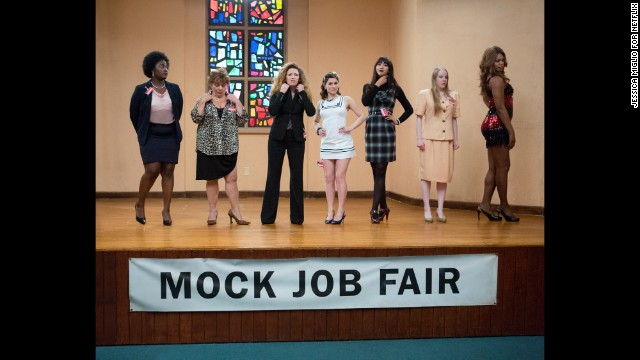 "<strong>Outstanding performance by an ensemble in a comedy series: </strong><!-- --> </br><strong>""Orange Is the New Black"" </strong>(pictured),<strong> ""Veep,"" ""The Big Bang Theory,"" ""Brooklyn Nine-Nine,"" ""Modern Family.""</strong>"