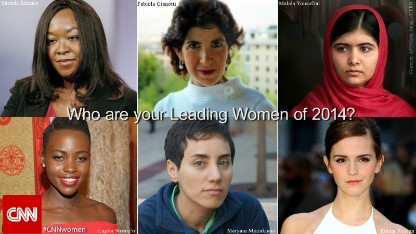 Who are the Leading Women of 2014