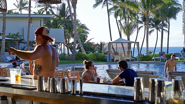 Bumbye Beach Bar is mere steps from Mokapu Beach on Maui's southwest coast. A crowd favorite, the Honua'ula cocktail is a mix of amaro, tequila, rum pineapple and lime.