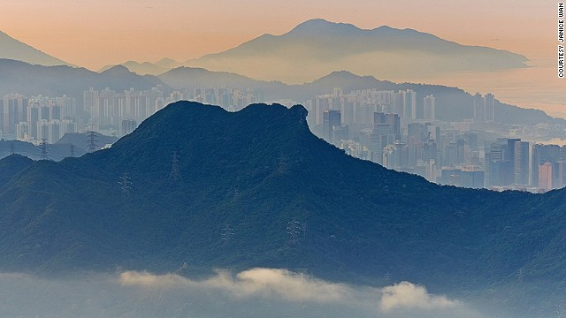 Victoria Peak views are sublime, but local hikers head to Lion Rock peak for stunning panoramas that few out-of-towners get to see.