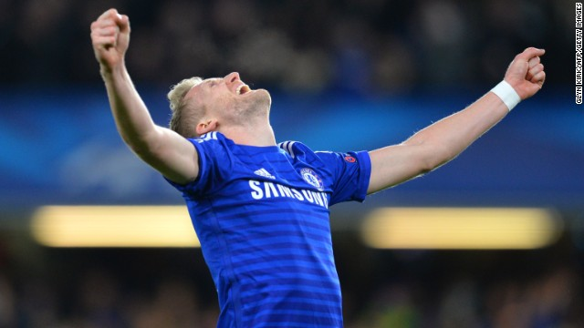 Andre Schurrle helped Chelsea seal a 3-1 win over Sporting Lisbon at Stamford Bridge. Cesc Fabregas and Jon Obi Mikel were also on target for the home side.