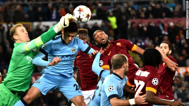 Roma and Manchester City met at the Stadio Olimpico in the final game of the Group Stage of the Champions League.