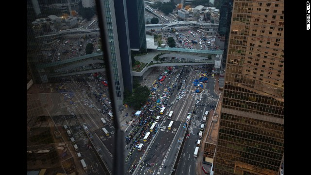 Photos: Hong Kong unrest
