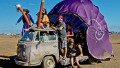 A scene from the AfrikaBurn festival in South Africa.