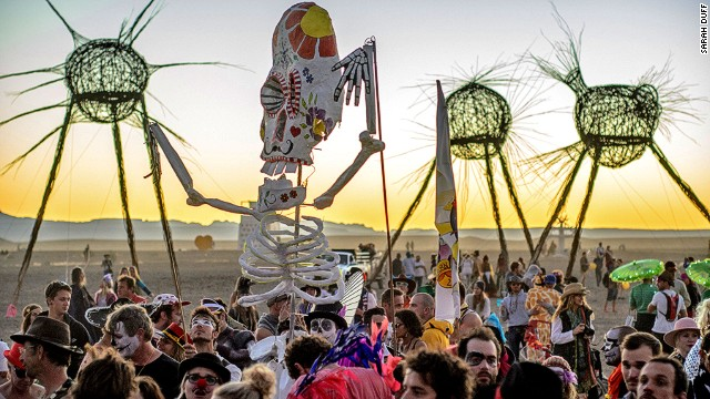 Crazy sculptures aren't the only bare bones facet of this event. AfrikaBurn participants must bring everything they need to survive for the week.