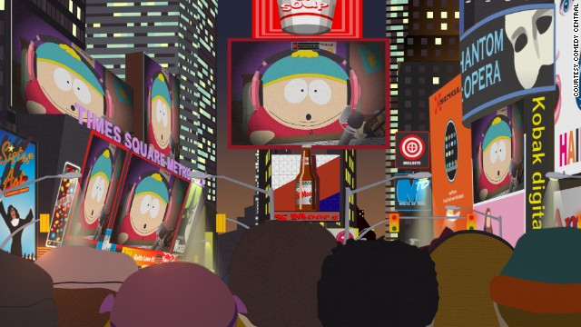 Cartman takes over the world on