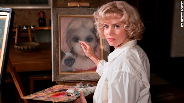 "Best actress in a motion picture -- musical or comedy: Amy Adams, ""Big Eyes"" (pictured); Emily Blunt, ""Into the Woods""; Helen Mirren, ""The Hundred-Foot Journey""; Julianne Moore, ""Maps to the Stars""; Quvenzhane Wallis, ""Annie."""
