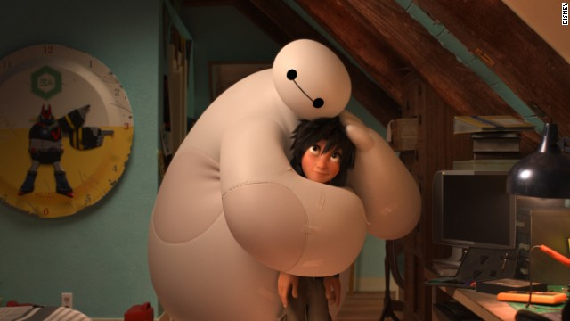 "Best animated feature film: ""Big Hero 6"" (pictured), ""The Book of Life,"" ""The Boxtrolls,"" ""How to Train Your Dragon 2,"" ""The Lego Movie."""