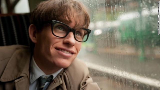 "Best actor in a motion picture -- drama: Eddie Redmayne, ""The Theory of Everything"" (pictured); Steve Carell, ""Foxcatcher""; Benedict Cumberbatch, ""The Imitation Game""; David Oyelowo, ""Selma""; Jake Gyllenhaal, ""Nightcrawler."""