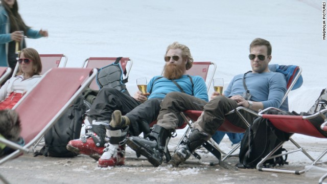"Best foreign language film: ""Force Majeure Turist"" (pictured), ""Gett: The Trial of Viviane Amsalem Gett,"" ""Ida,"" ""Leviathan,"" ""Tangerines Mandariinid."""