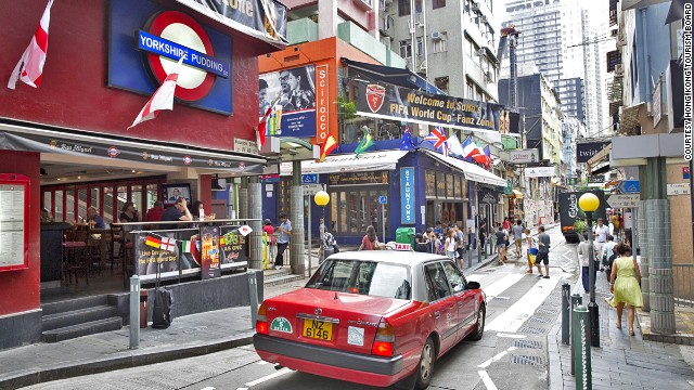 Soho has been the king of the bar and restaurant scene for more than a decade. With more tourists heading to the area, hip locals are heading down Hollywood Road.