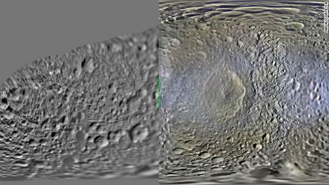 Metamorfosis de las lunas de Saturno