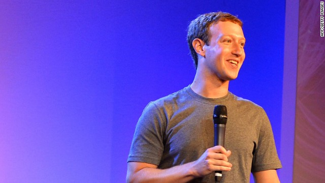 "In 2013, Facebook partnered with six other tech industry leaders including Ericsson and Qualcomm to launch <a href='http://internet.org/' target='_blank'>Internet.org</a>, an organization dedicated to bringing the internet to the ""world's population that doesn't have it."" Pictured is Facebook founder Mark Zuckerberg at the 2014 Internet.org summit."