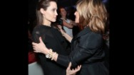 Oh, to be a fly on the wall when this photo of Angelina Jolie and Amy Pascal was taken.