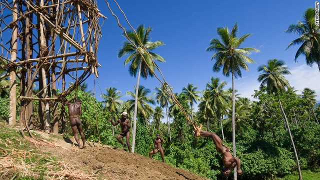 Famed for a ritual in which locals with vines tied around their legs <a href='http://edition.cnn.com/2014/03/30/travel/vanuatu-land-divers/'>jump off platforms</a>, Vanuatu made progress with land reform that supports indigenous rights.