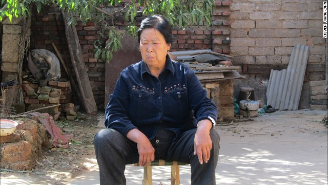 "HEBEI PROVINCE, CHINA: ""I took this photo of Zhang Huanzhi in front of her house when I interviewed this brave Chinese farmer in the fall of 2011. Her 20-year-old son Nie Shubin was executed in 1995 for crimes later confessed by another man. She's been going to court - hours away from her village - and trying to clear her son's name ever since. China's Supreme Court just ordered a review of his case. I hope Zhang, now 70, will finally see justice served soon."" - CNN's Steven Jiang. Follow Steven (<a href='http://instagram.com/stevencnn' target='_blank'>@stevencnn</a>) and other CNNers along on Instagram at <a href='http://instagram.com/cnn' target='_blank'>instagram.com/cnn</a>."