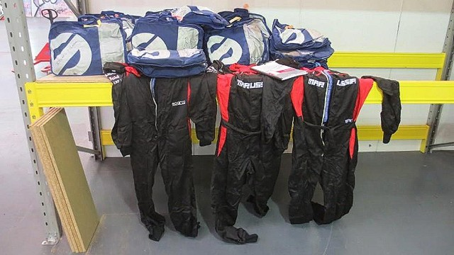 Motorsport collectors might also be interested in bidding for the fireproof suits worn by members of the team during pit stops.