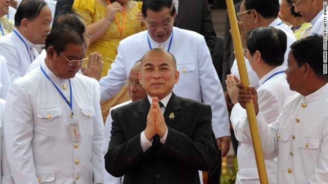 Cambodia's King Norodom Sihamoni succeeded his father, who had retired, in 2004. In the years before taking the throne, the king served as a professor of classical dance and artistic director of a ballet company, among other positions, <a href='http://ift.tt/1x4MFrA' target='_blank'>according to his website</a>.
