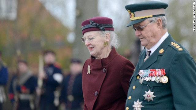Queen Margrethe II of Denmark, seen here with her husband, Henrik, Prince Consort, <a href='http://ift.tt/1zidXHX' target='_blank'>succeeded her father on the throne</a> in 1972.