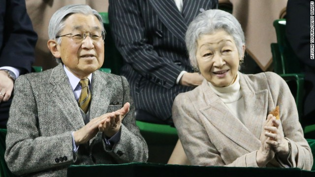 Japan's <a href='http://ift.tt/1x4MFrM'>Emperor Akihito</a> and Empress Michiko married in 1959. He became emperor in 1989.