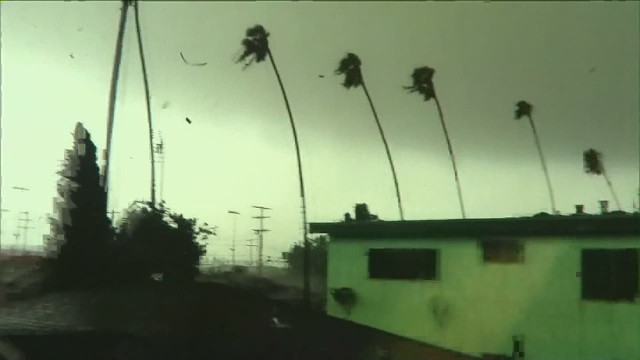 Tornado, floods pass in California