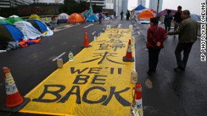 Is 'Umbrella Movement' dead and buried?
