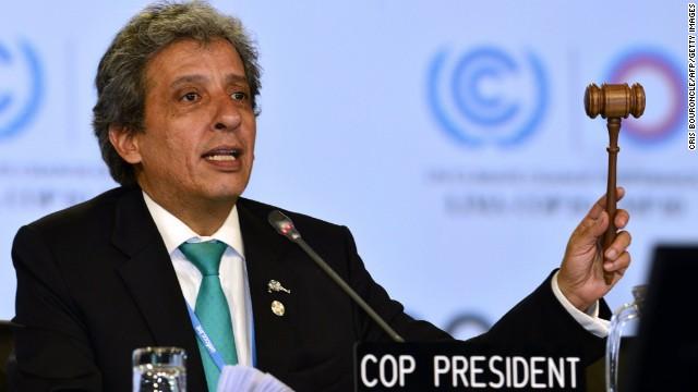 Consenso en Lima de 200 países para un acuerdo global de cambio climático en 2015
