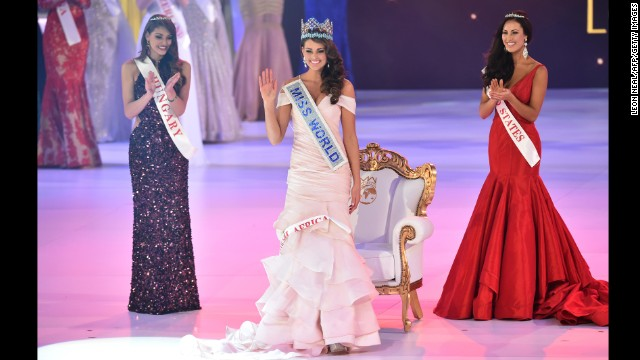 Miss South Africa, Rolene Strauss, wins Miss World 2014 - CNN.com