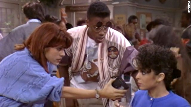 """""""Cosby"""" spinoff """"A Different World"""" continues to be beloved among viewers who were around the same age as Whitley (Jasmine Guy, right) and Dwayne Wayne (Kadeem Hardison) in college."""