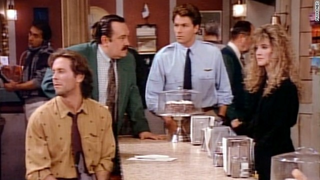 """""""Wings,"""" with Tim Daly, center, and Steven Weber, left, was sort of the """"also-ran"""" show during the """"Cheers"""" heyday, but it was able to muster eight seasons."""