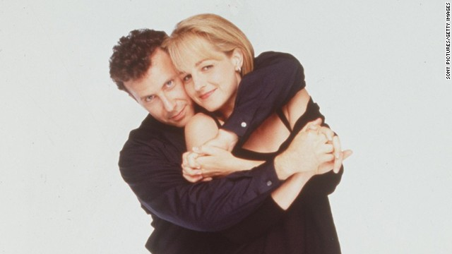 """""""Mad About You,"""" starring Paul Reiser and Helen Hunt, was often seen as the companion series to """"Friends"""" and """"Seinfeld,"""" sharing the comedic sensibilities of both. Hunt went on to movie fame during and after its run."""