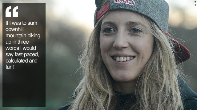 Rachel Atherton Downhill Mountain Biker On Top Of The World Cnn Com